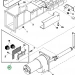 Placa de circuito do sensor de umidade